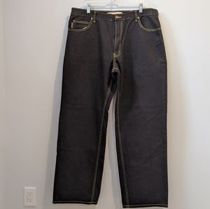 Timberlands black denim jeans 38x32